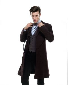 "Matt Smith, ""11th Doctor"" DOCTOR WHO Genuine Signed Autograph 11114"